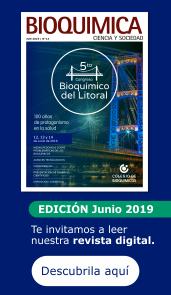 Revista del Colegio de Bioquímicos de Santa Fe - junio 2019