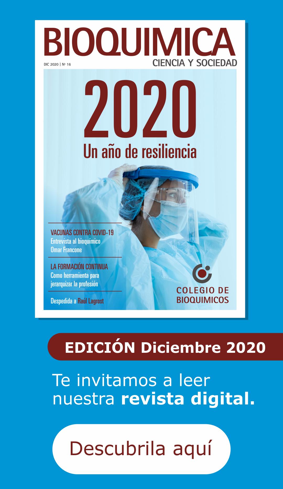 Revista del Colegio de Bioquímicos de Santa Fe - diciembre 2020